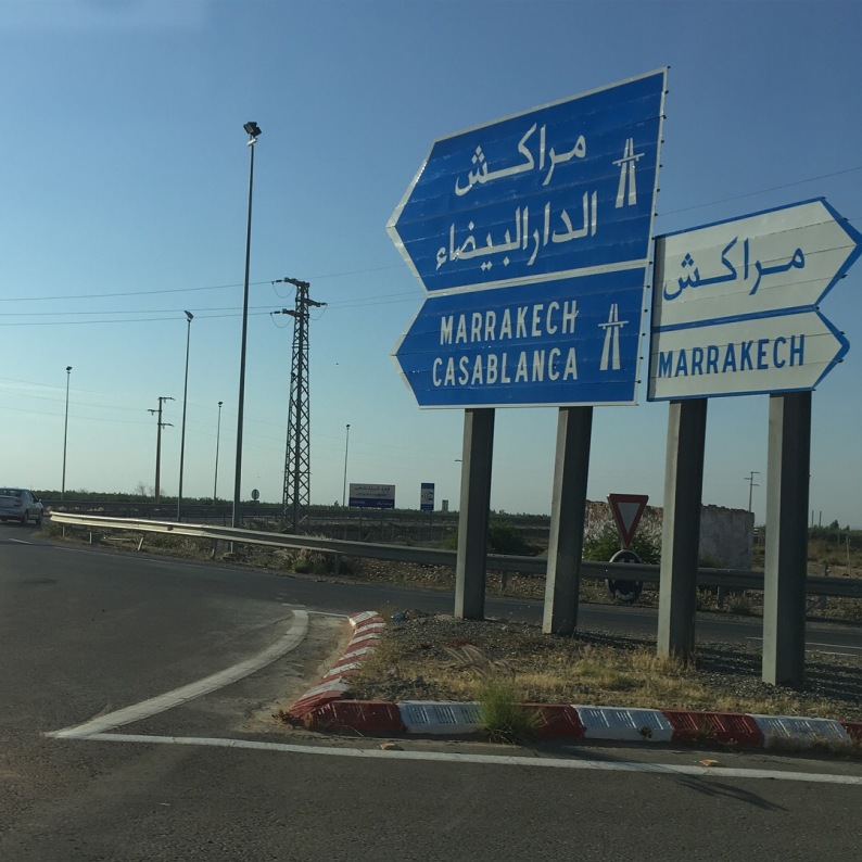 All roads lead to Marrakech, apparently...